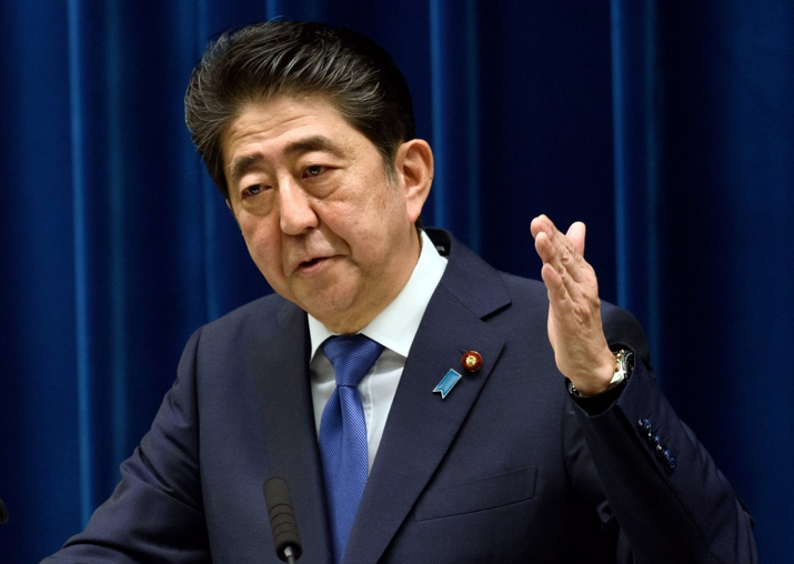 Priorities are North Korea and aging Japan, says Shinzo Abe
