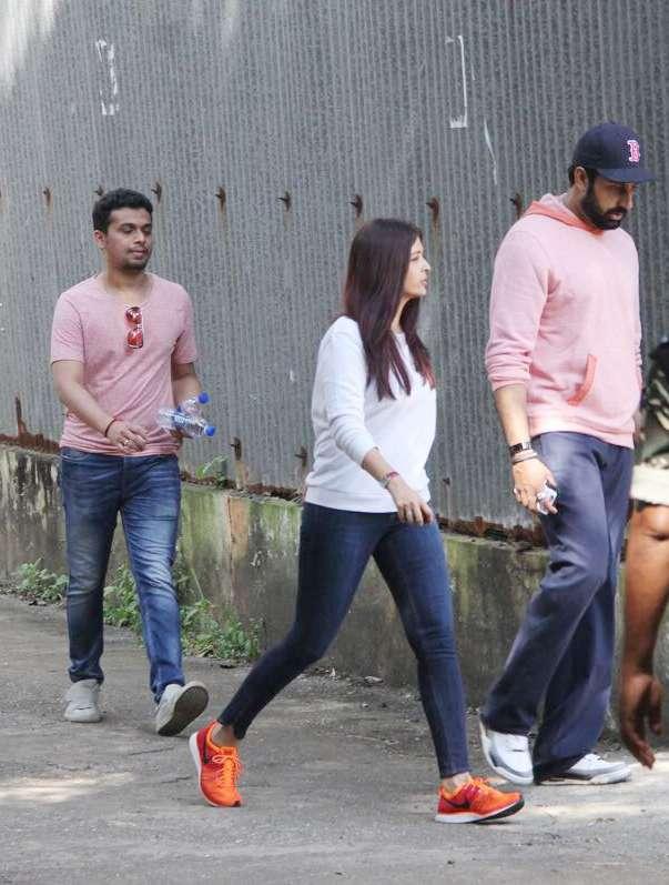 India Tv - aishwarya and abhishek