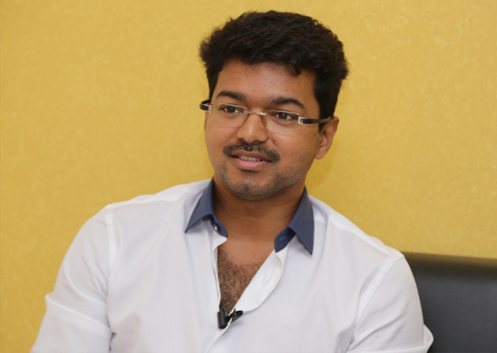 File pic of actor Vijay