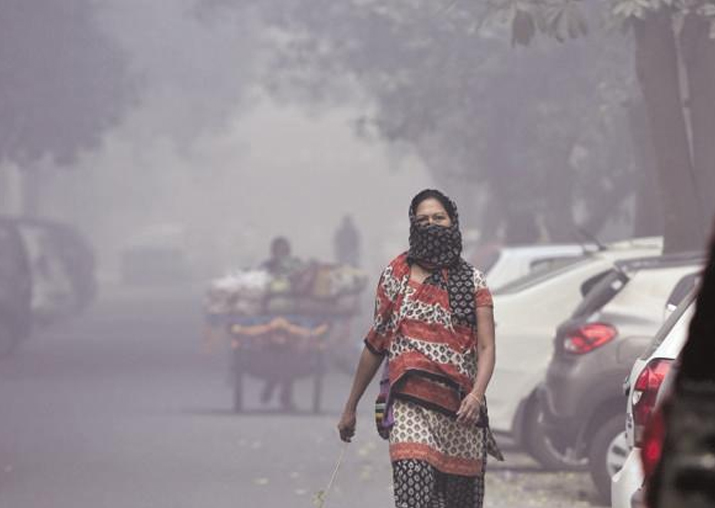 Representational pic - Ahead of Diwali, Delhi's air already
