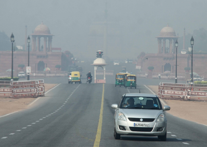 Two days after Diwali, air quality 'very poor' in Delhi