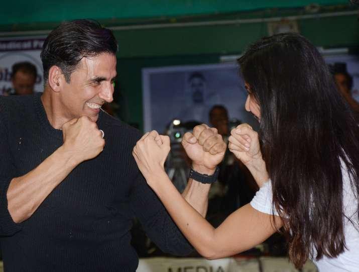 India Tv - Katrina Kaif and Akshay Kumar's camaraderie was the show-stealer