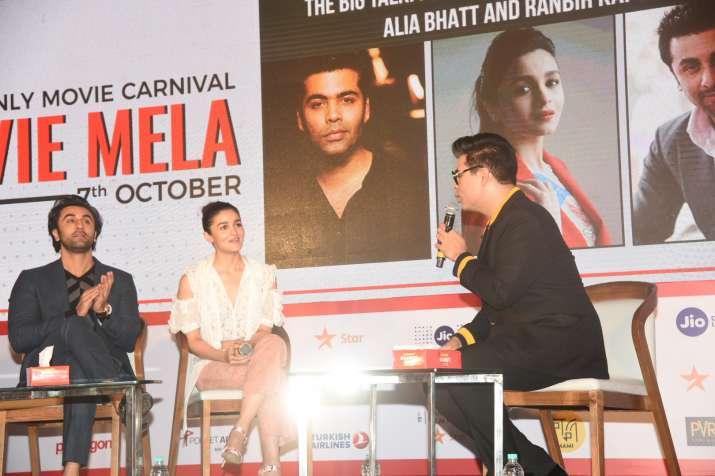 Karan johar, alia bhatt, ranbir kapoor on nepotism