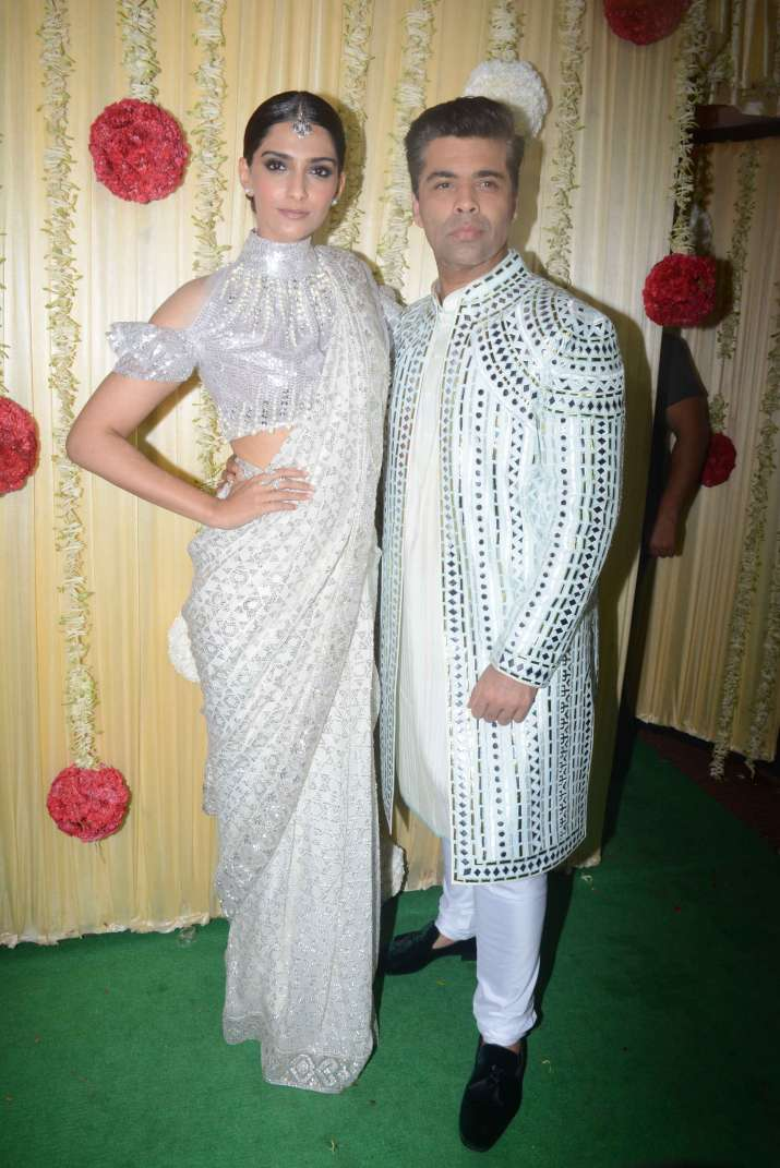 India Tv - Sonam Kapoor with Karan Johar