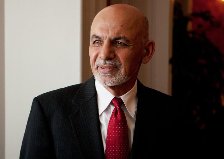 File pic of Afghanistan President Ashraf Ghani