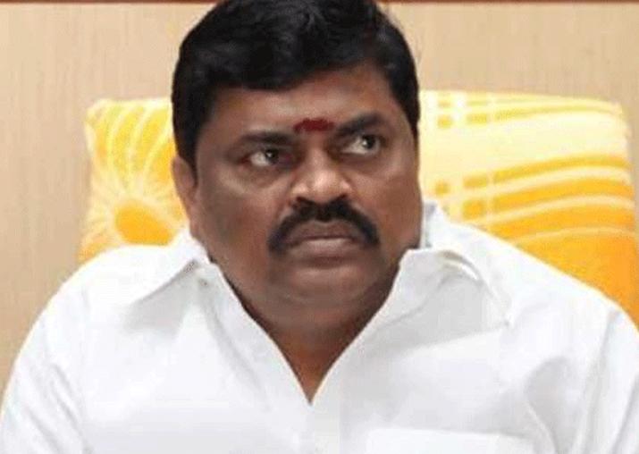 File pic of TN Minister KT Rajendra Balaji