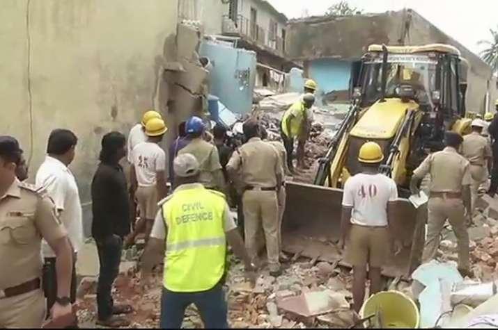 Bengaluru building collapses after LPG cylinder blast