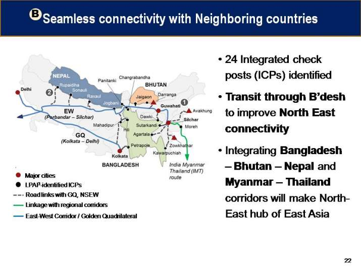 India Tv - Bharatmala will improve India's connectivity to Nepal, Bhutan, Bangladesh and Myanmar