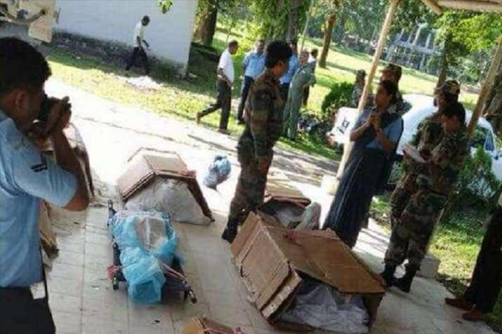 Tawang air crash: Images of soldiers' bodies in plastic