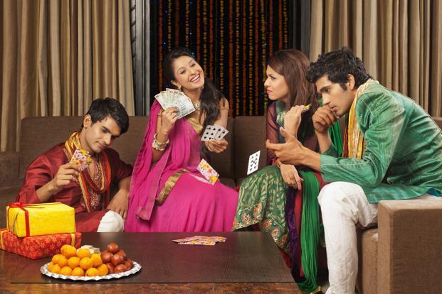 Gambling on Diwali