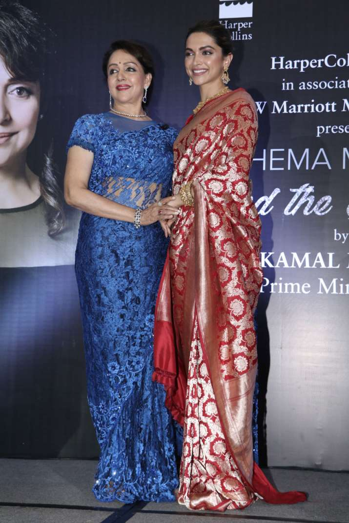 India Tv - deepika and hema malini