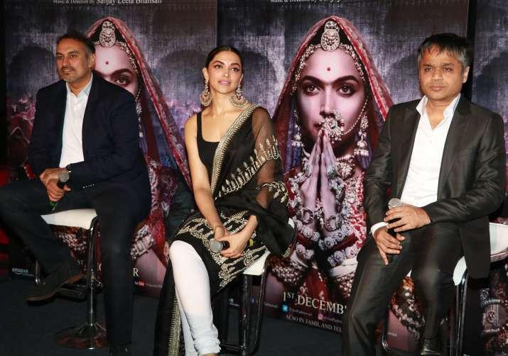 Deepika Padukone extremely nervous about Padmavati