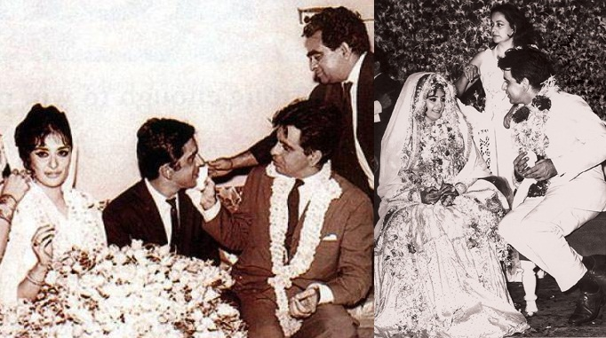 India Tv - Marriage pics of Dilip Kumar and Saira Banu