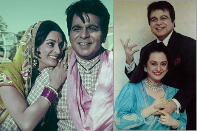 India Tv - Dilip Kumar along with wife Saira Banu