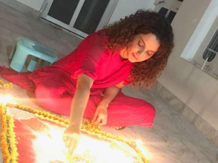 India Tv - kangana diwali 2017