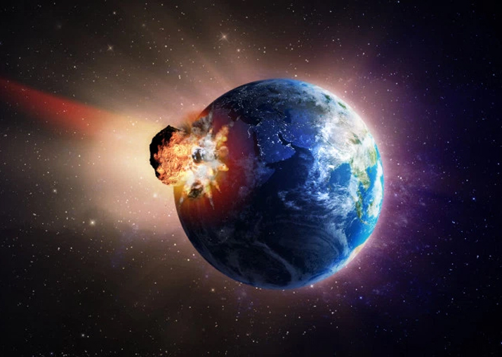 Representational pic - House-sized asteroid may smash into