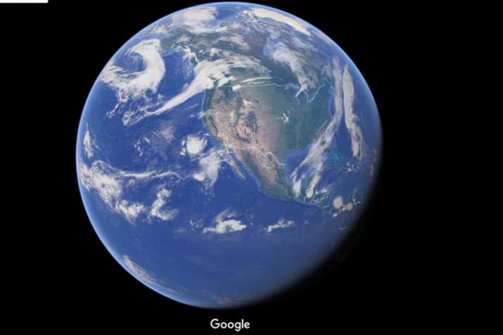 India Tv - Earth as seen from Google Maps