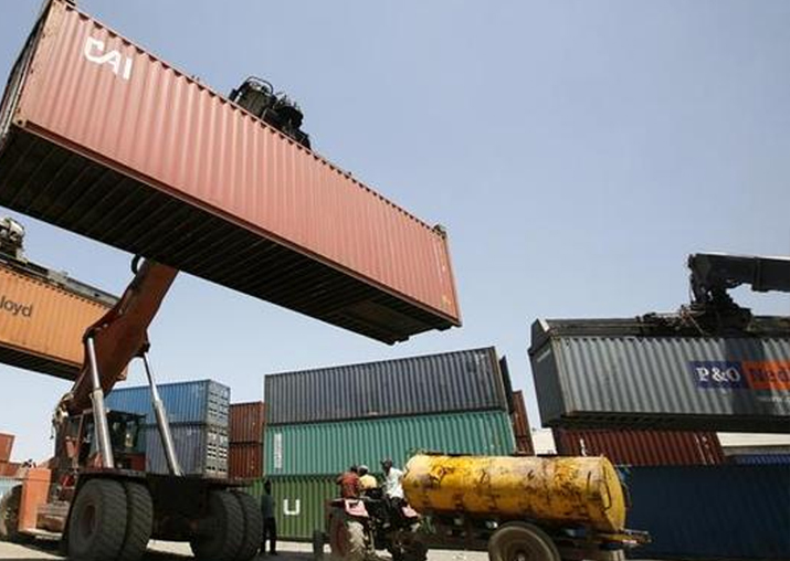 Representational pic - Export logs 6-month high growth of