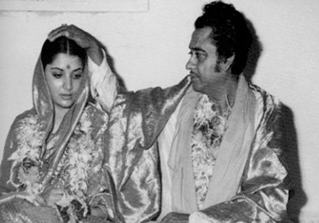 India Tv - Kishore Kumar and Yogita Bali