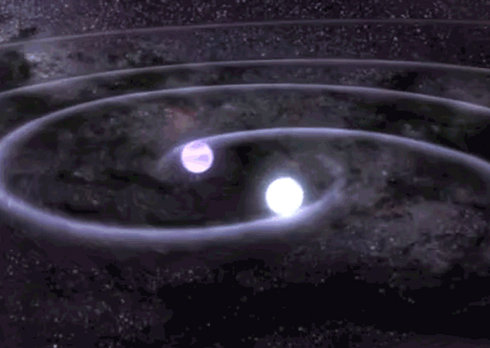Representational pic - Gravitational waves from neutron
