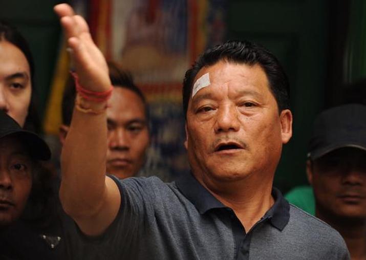 File pic of Bimal Gurung