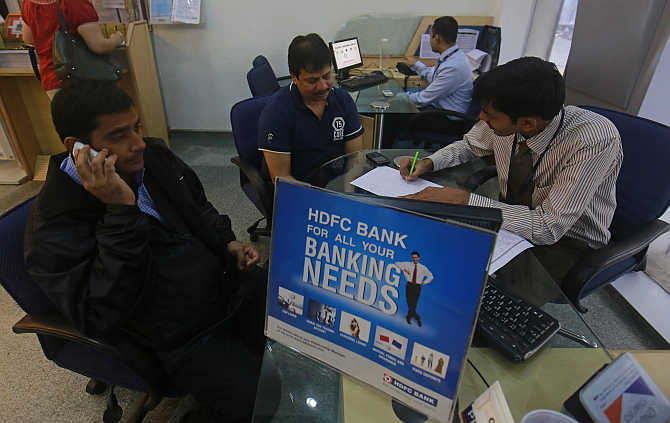 HDFC Bank registered a 15 per cent rise in interest income
