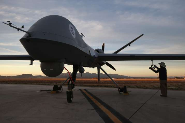Considering Indian request of armed drones for Indian Air