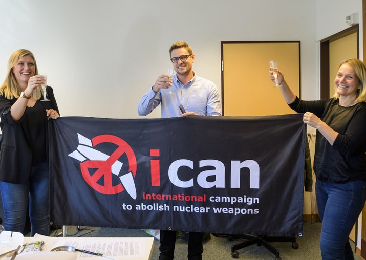 Geneva-based anti-nuclear weapons group wins 2017 Nobel