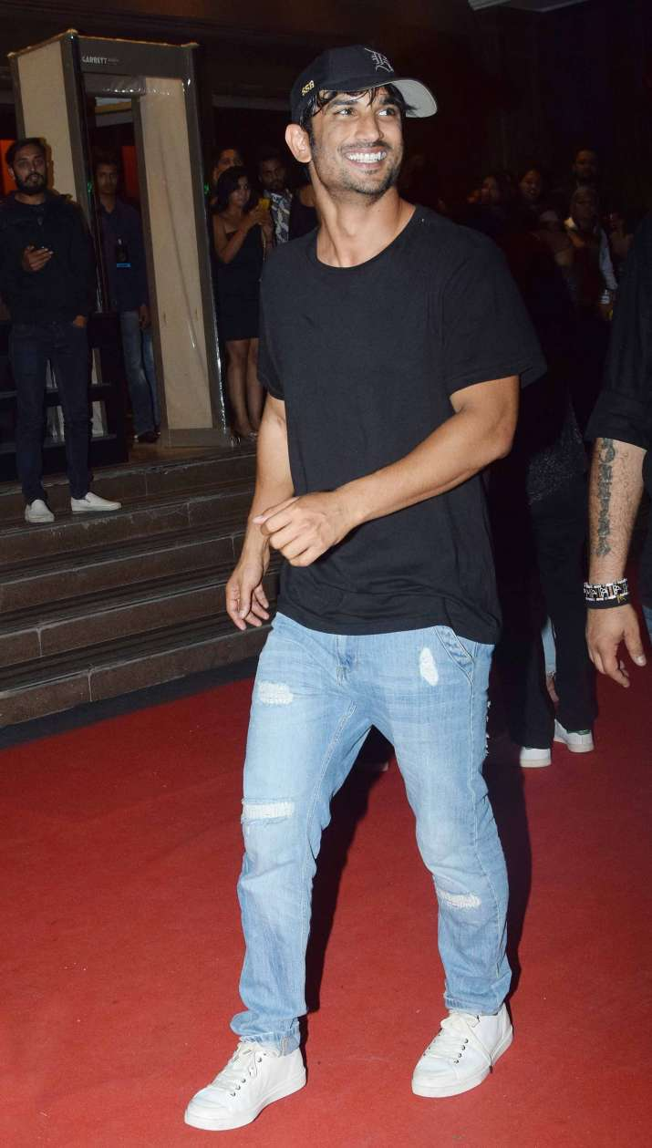 India Tv - Sushant Singh Rajput at his casual best at Gauri Khan's Halloween Party