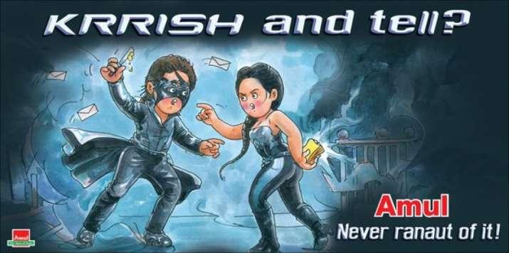 India Tv - Amul hoarding