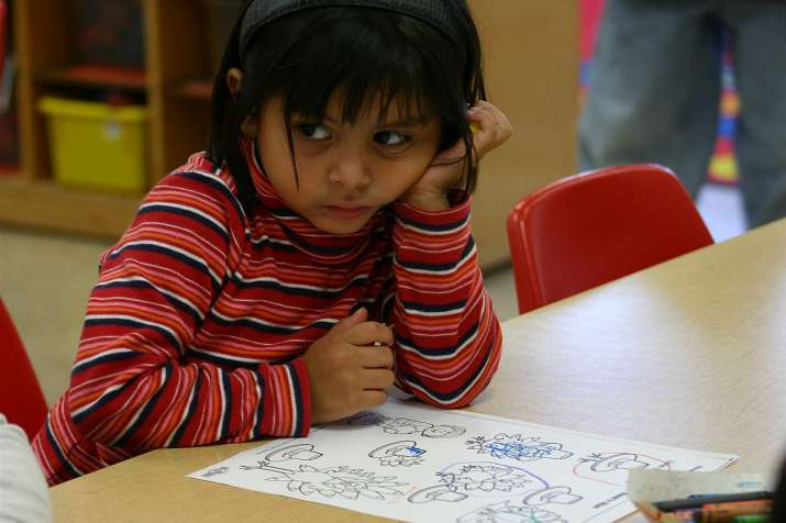Child staying indoor are more likely to be less interactive