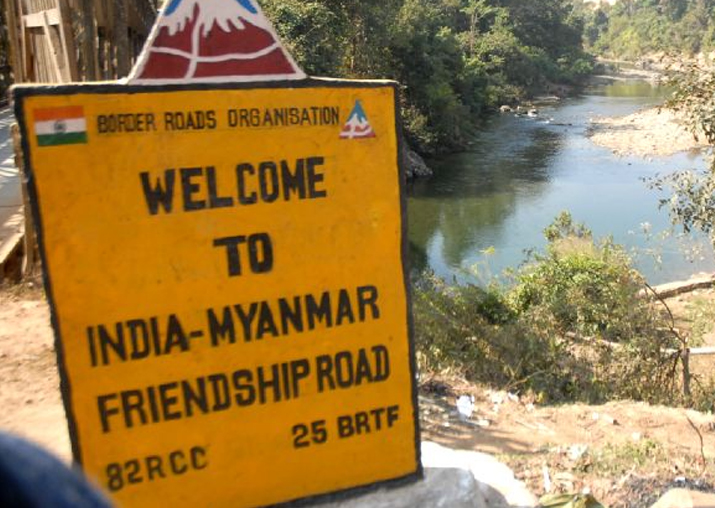 File pic - India opens two border crossing points with