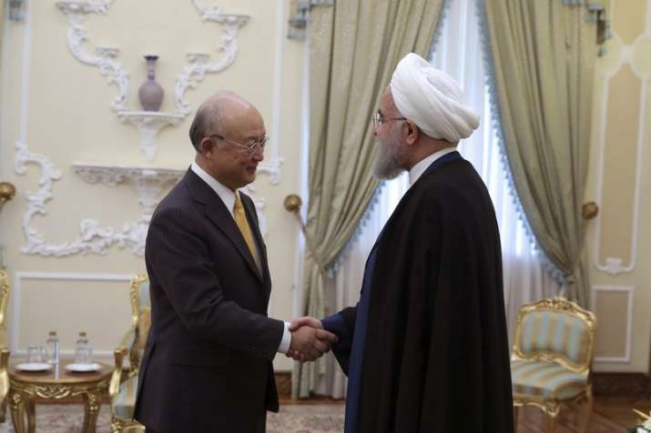UN nuclear body says Iran living up to its commitments