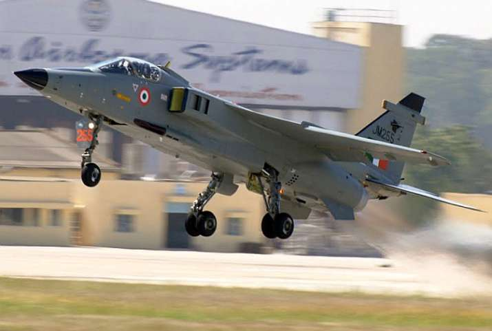 India Tv - File photo of Indian Air Force's Jaguar aircraft