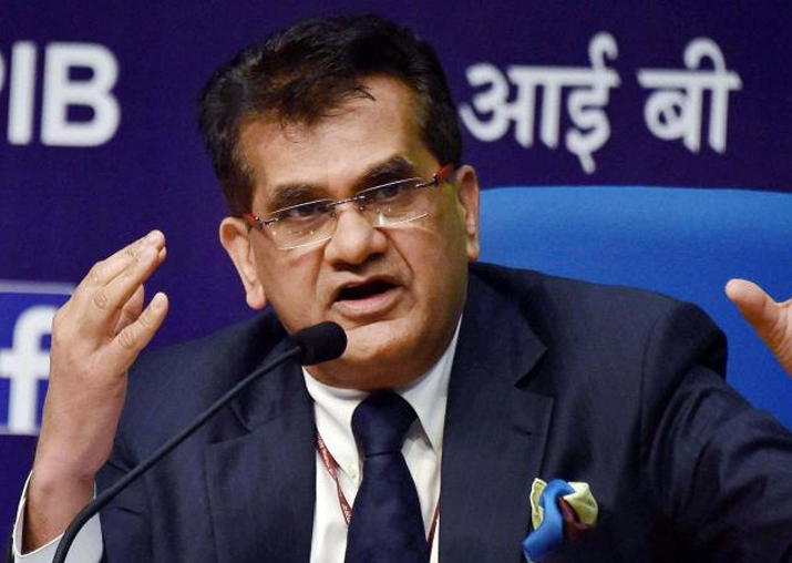 File pic of NITI Aayog CEO Amitabh Kant