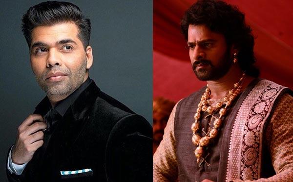 Karan Johar takes a sly dig at Baahubali actor Prabhas