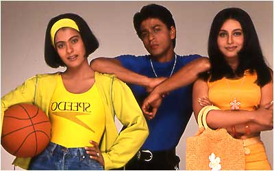 Karan Johar and Kajol on Kuch Kuch Hota Hai