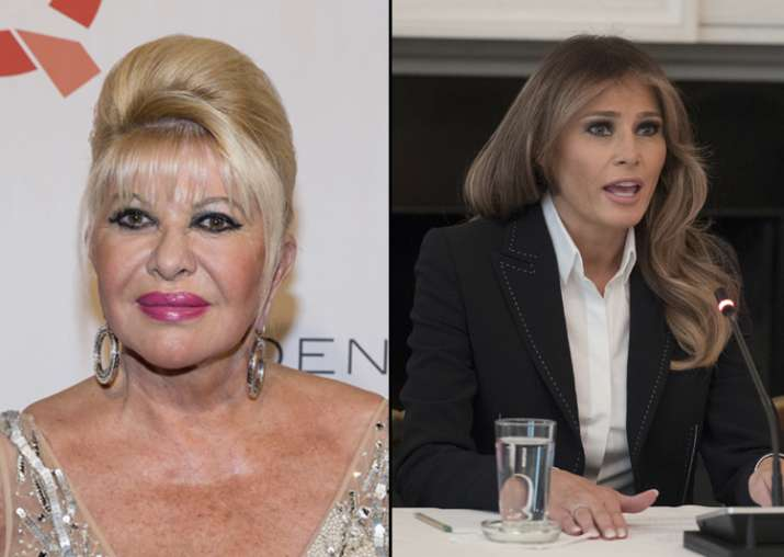 Melania Trump and Ivana are engaged in war of words over