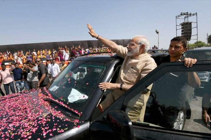 Prime Minister Narendra Modi in Vadnagar