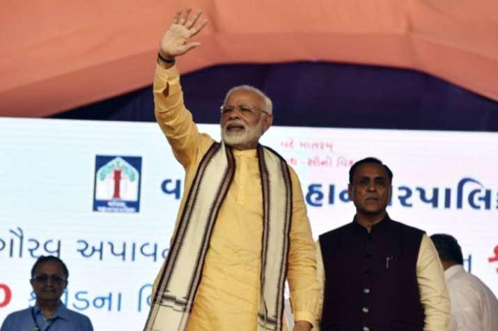 PM Modi in Vadodara