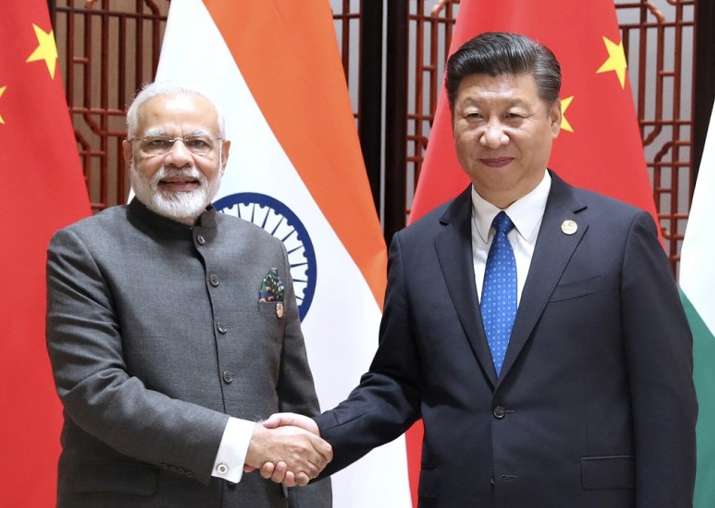 File pic of PM Modi and Chinese President Xi Jinping