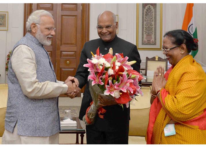PM Modi greets President Ram Nath Kovind on his birthday