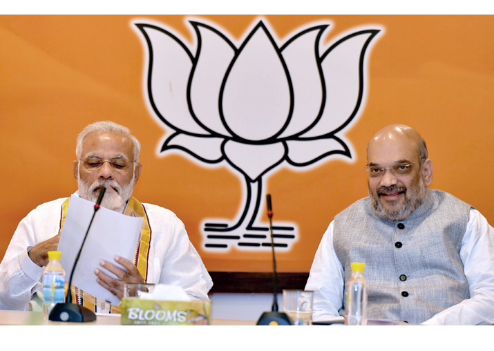 PM Modi, Amit Shah meet to finalise Himachal Pradesh poll