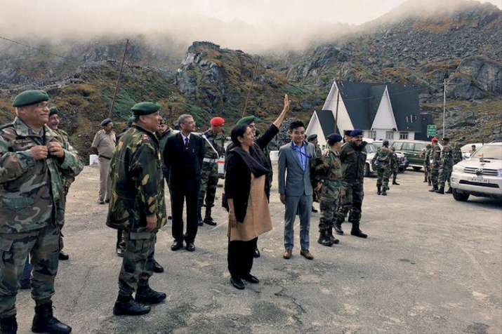Nirmala Sitharaman teaches Chinese troops the meaning of