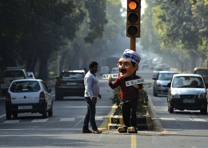 File pic - Delhi government likely to implement odd-even