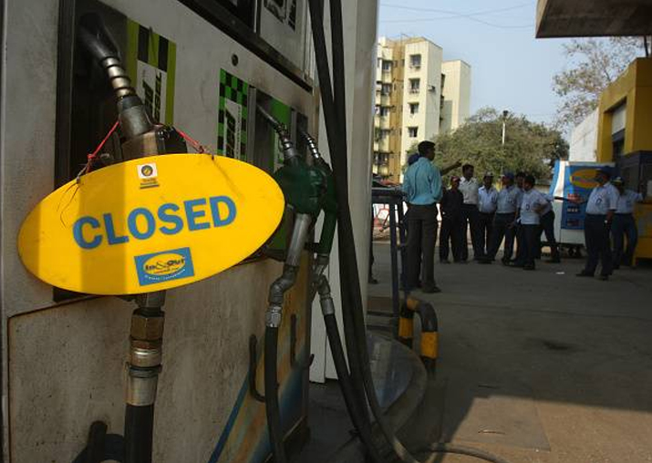 Representational pic - Petrol pump dealers withdraw
