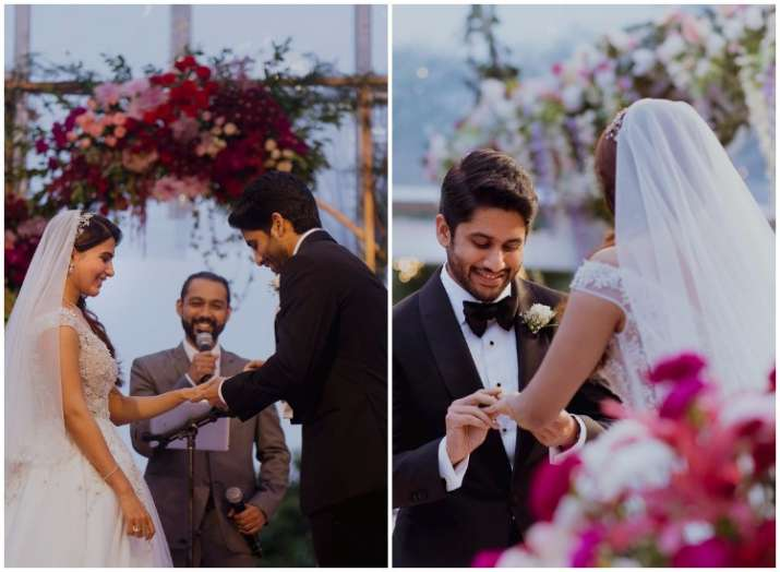 Samantha Ruth Prabhu Naga Chaitanya Christian wedding pics
