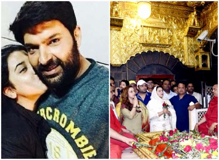 Kapil Sharma spotted offering prayers at Shirdi with gf