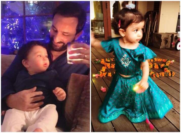 tamiur, misha, aaradhya celeb kids during Diwali