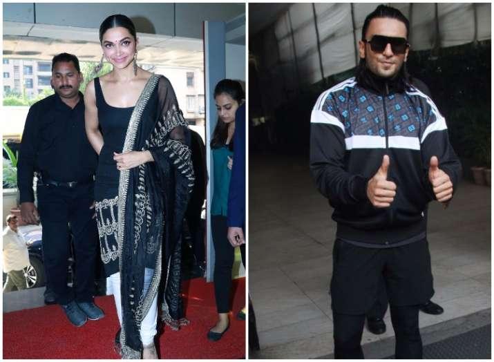 8fa0e8fc0a3a5 Padmavati 3D trailer launch  Deepika Padukone is a vision in black ...